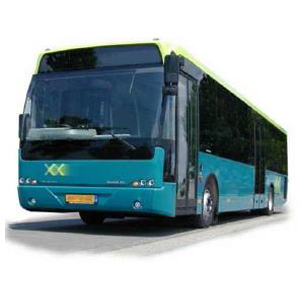 Schnappverschluss mit Druckknopf in Autobus