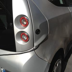 Schnappverschluss in Elektroauto