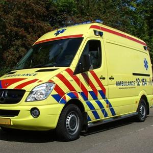 Fernbedienbarer Verschluss in Krankenwagen