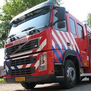 Verborgener Schnappverschluss in Feuerwehrfahrzeug