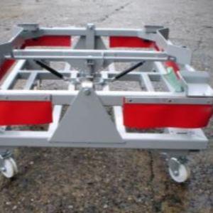 Gasdruckdämpfer in Trolley