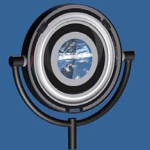 Hebelverschluss C5 in Designerlampe