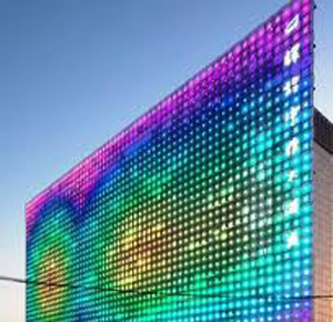 Panelverschluss verbindet LED Bildschirme