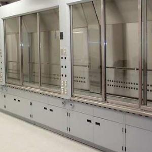 Aushängbare Scharniere mit einstellbarer Kompression für Laborschrank