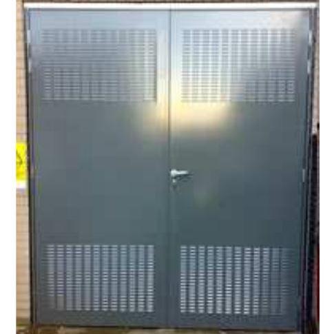 Aushängbare Scharniere in Stahltüren