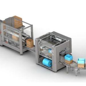 Federscharniere Aluminium in Verpackungsmaschine