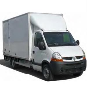Schließringbolzen in Transporter
