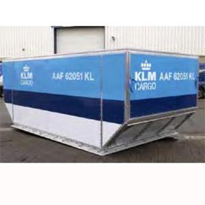 Schließringbolzen in Luftfrachtcontainer