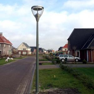 Schnellverschluss in Straßenbeleuchtung