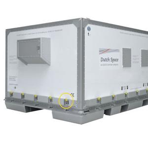 Spannverschluss in Luftfrachtcontainer