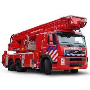Stangenscharniere Aluminium in Feuerwehrfahrzeug