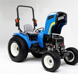 Verborgener Panelverschluss in Traktor