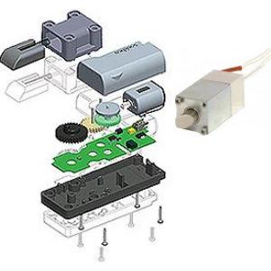 Aufbau elektromechanische Verschlüsse