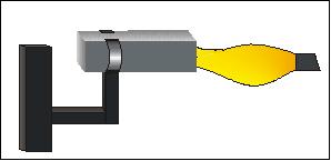 UL94-HB: Teststab wird horizontal gezündet