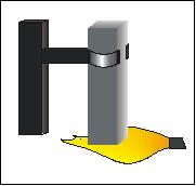 UL94-V: Teststab wird vertikal gezündet