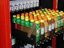 Teleskopschienen im Softdrink-Automaten