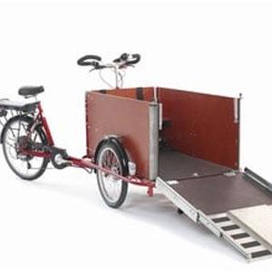 Teleskopschienen im Cargo-Bike