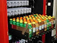 Schienen Verkaufsautomaten