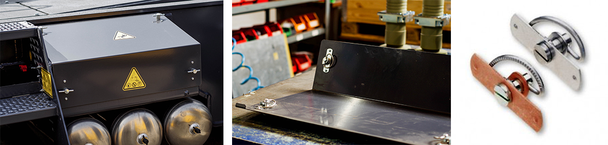 Kompressionsverschluss schützt Batteriefach