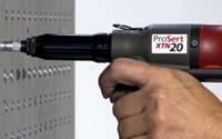 Blindnietmuttern setzen mit dem Werkzeug XTN20!