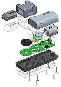 Aufbau elektromechanischer Verschlüsse