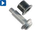 Schließringbolzen / Große Durchmesser / Güteklasse 10.9 / Stahl (Bobtail)