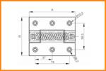 CAD Federscharnier