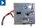 Elektromechanischer Schnappverschluss: Öffnen, Verriegeln, Kontrollieren und Steuern in Einem